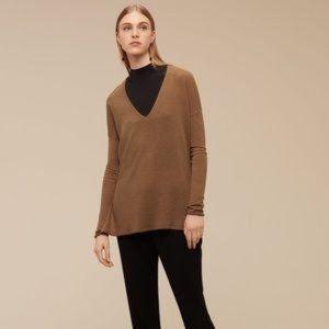 Aritzia Sweaters - Aritzia Babaton Erin Camel Sweater